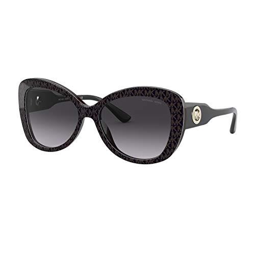 Michael Kors 0MK2120 Gafas, BLACK/GREY SHADED, 56 para Mujer