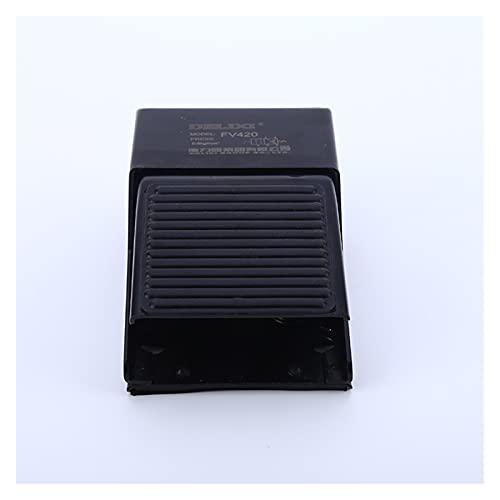 """Válvula de ducha Control de presión del pie G1 / 4""""FV 420 interruptor de válvula de pedal neumático de aire roscado para la manguera"""