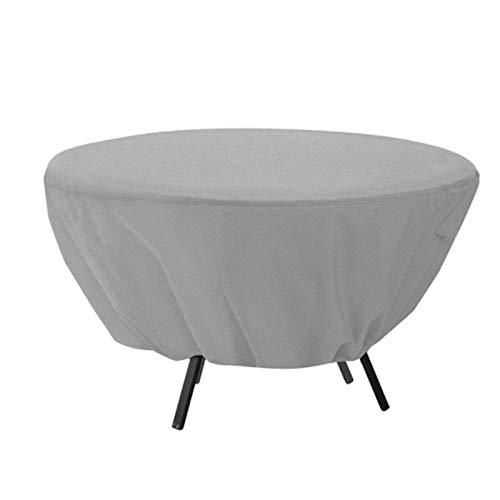 Funda De Protección 130x70cm, Fundas para Muebles De Jardín De Tela Oxford Resistente Al Viento, Cubierta De Exterior Impermeable, para Mesa De Patio Al Aire Libre