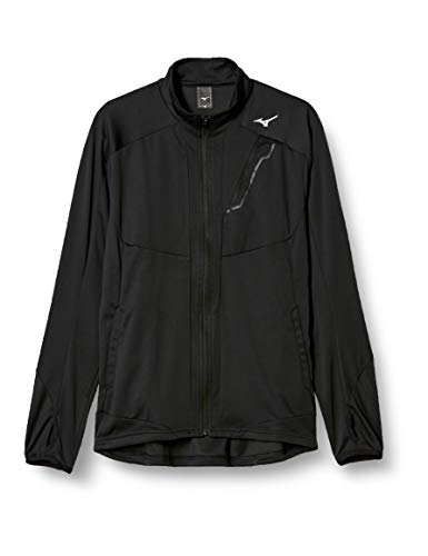 [Mizuno] トレーニングウェア トレイジャージャケット 32MC8655 メンズ ブラック 日本 XL (日本サイズXL相当)