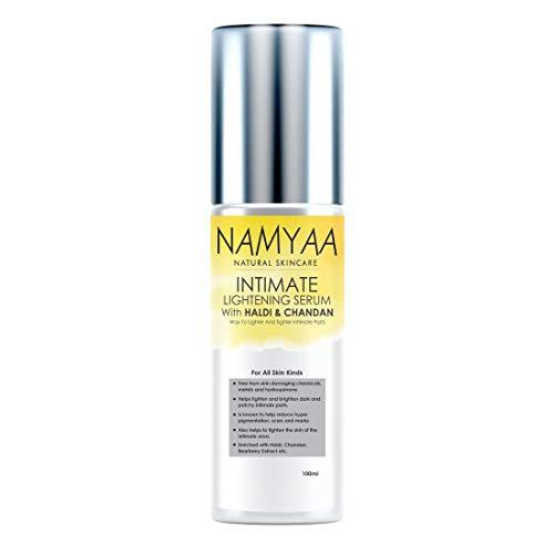 Namyaa Advanced Haldi Chandan Intimate Lightening Serum For Intimate Area | For Lighter And Tighter Skin 100g