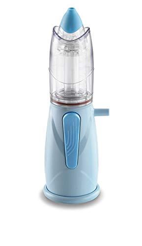 Air Liquide Healthcare Rinowash - Doccia Nasale Micronizzata per la Terapia Aerosolica - Nebulizzatore per Aerosol per Adulti e Bambini per Trattamento delle Alte Vie Respiratorie, in Morbido Silicone