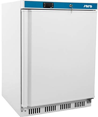 Saro HK 200 Kühlschrank mit Umluftventilator/85 cm/409 kWh/Jahr/129 L Kühlteil/129 L Gefrierteil/Türanschlag wechselbar