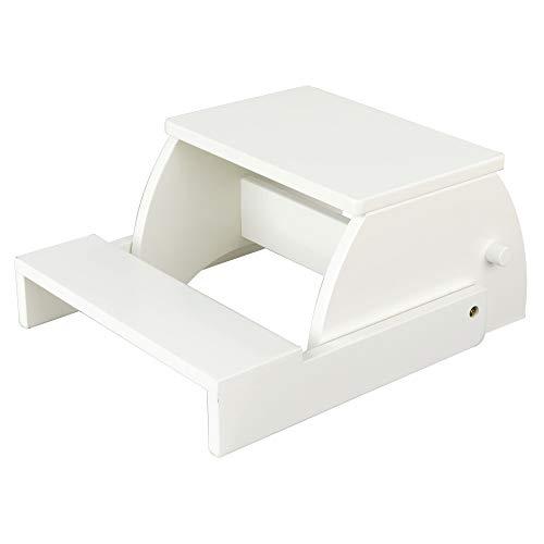 KidKraft Large Flip Stool - White