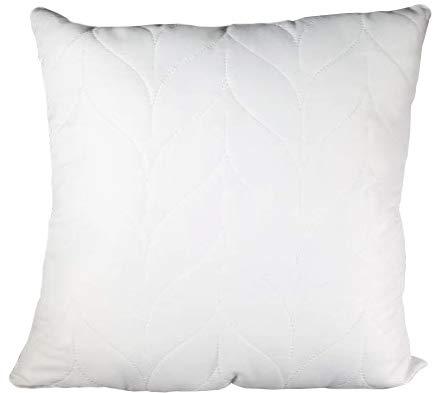 Warez Set – 2 cojines, cojines para el sofá – Microfibra acolchada – Todos los tamaños, blanco, 70x90 cm