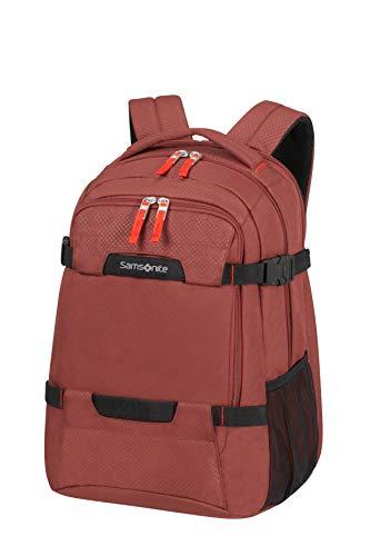 Samsonite Sonora - 15.6 Pollici Espandibile Zaino Porta PC, 45 cm, 31/34 L, Rosso (Barn Red)
