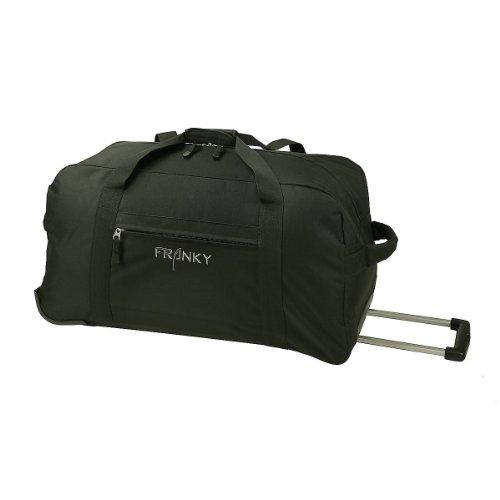 Franky Travel Rollenreisetasche 78cm schwarz