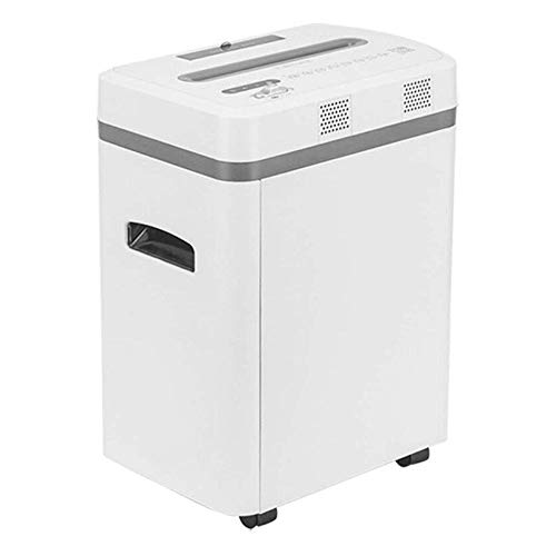 Amazing Deal HIZLJJ Cross-Cut Paper Shredder,7 Sheet Capacity, 10Min Continuous Duty, Exclusive Hybr...