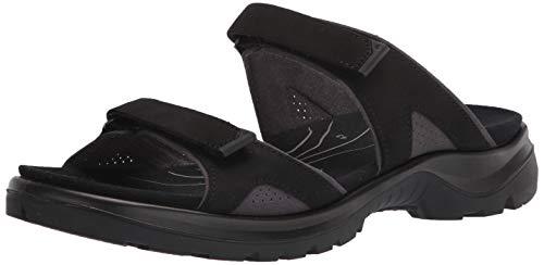 ECCO Women's Yucatan 2.0 Slide Sport Sandal, Black, 8-8.5