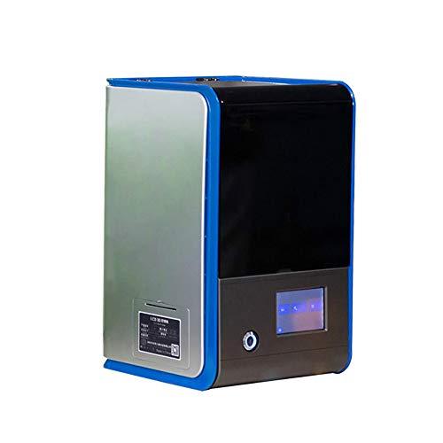 Imprimante 3D, Machine d'impression De Cire De Bijoux Dlp 3D, Impression Hors Ligne, DéCoupage Rapide, Ultra Haute PréCision, LCD Fondu, ÉCran LCD 2K, Education/Dessin Animé/Photo 3D