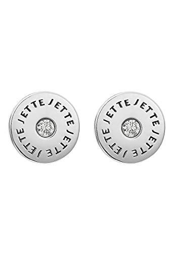 JETTE Silver Damen-Ohrstecker 925er Silber 2 Zirkonia One Size 87544788