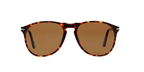 Persol Po9649s gafas de sol, Marrón (Havana/Polarized Brown), 55 Unisex-Adulto