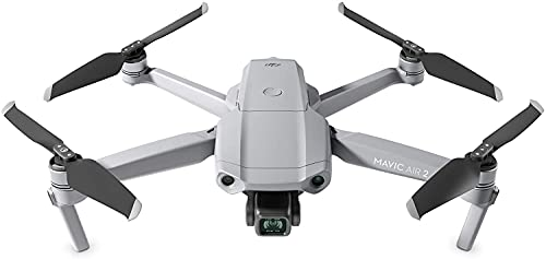 DJI Mavic Air 2 - Drone Quadcopter UAV with 48MP Camera 4K Video 1/2 inch CMOS Sensor 3-Axis Gimbal 34min Flight Time ActiveTrack 3.0 - Grey