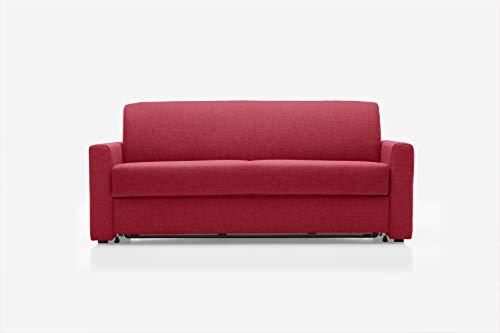 REPOSA Monza Sofas, Stoff, Rot, 171 x 98 x 80 cm