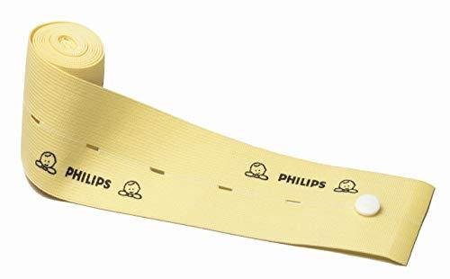 PHILIPS Correas de monitorización fetal Cinturón de un solo paciente Cardiotocograph Band Roll 1.3m x 60mm Juego de 2 piezas M2208A