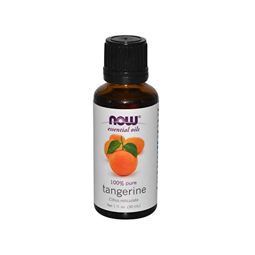 NOW Essential Oils, Tangerine Oil, Cheerful Aromatherapy Scent, Cold...