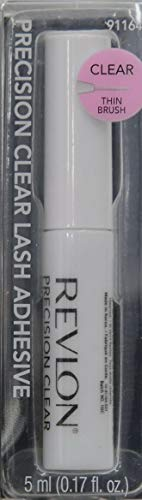 Revlon Precision Clear Lash Glue Adhesive Wimpernkleber, Waterproof and Latex Free, 30 g