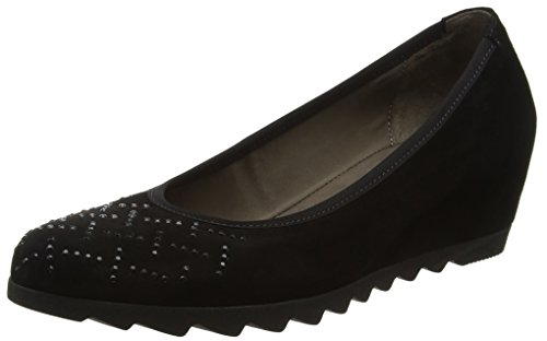 Gabor Shoes Damen Basic Pumps, Schwarz (17 Schwarz), 39 EU