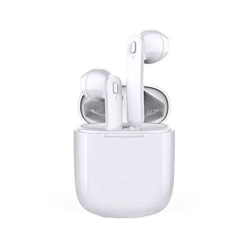 TWS Earphones, Bluetooth 5.0 Earbuds with Earhook for Running, Workouts-1