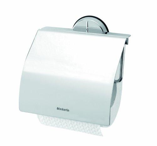 Brabantia 427602 Dérouleur de Papier Toilette Brilliant Steel