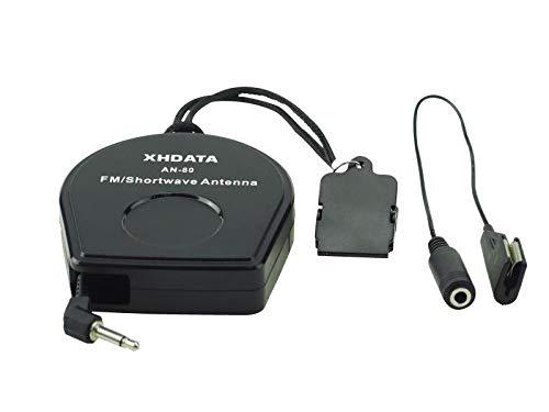 XHDATA AN-80 FM SW Radio Antena TECSUN AN03 y AN05 versión combinada...