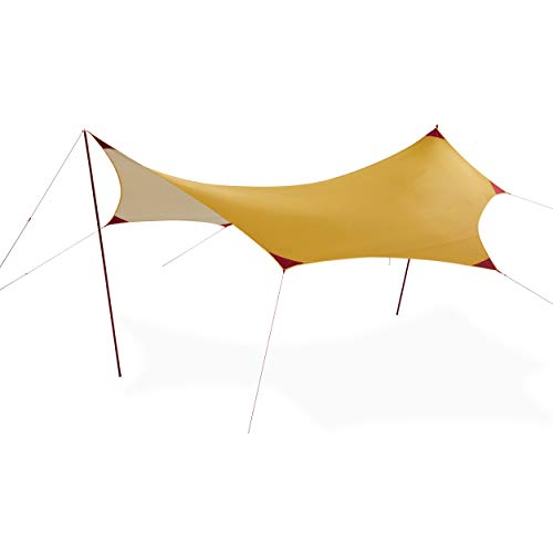 MSR Rendezvous Sun Shield Wing Canopy Camping Shelter, 200 Square Foot