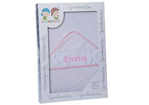 Toalla Capa de baño Bebe Personalizada con nombre bordado