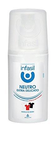 Infasil - Lot de 12 déodorants en spray sans gaz - Anti-taches - 70 ml