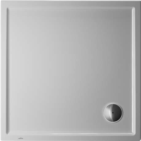 Duravit Starck Slimline vierkante douchebak, 90x90 cm, wit - 720115000000000