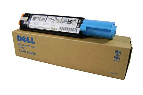Dell 593-10061 3100cn Tonerkartusche cyan hohe Kapazität 4.000 Seiten 1er-Pack