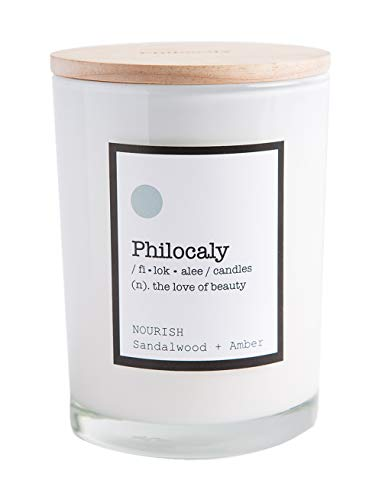 Scented Jar Candle – Soy Wax, Recycled Glass – Clean Burn, Long Scent, 9.5oz