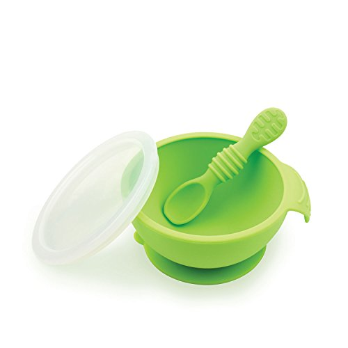 hippychick First Feeding Set with Spoon and Lid Vaisselle