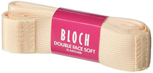 Bloch Dance Ballet/Pointe Shoe Double Faced Elastorib Pink, One Size