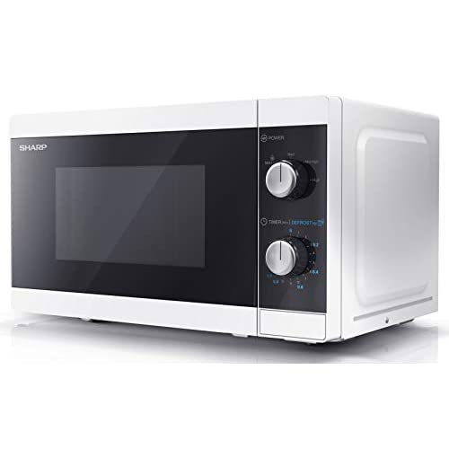 31bMee0SHVL. SS500  - Sharp YC-MS01U-W 20 L 800W Microwave - White