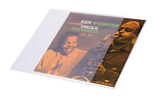 Dynavox Schallplatten-Außenhülle los Años 50 Pack, Ligeramente Matt Superficie, Archiv-Qualität, Vinylhüllen para Lps