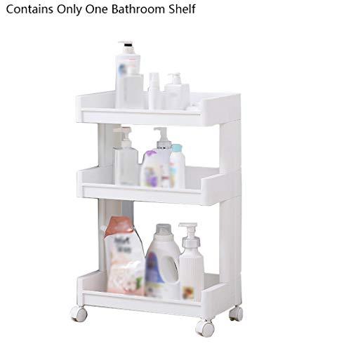 Liutao Badkamerrek, badkamerkast, badkamerrek, vloer, badkamerkast, toilette, opslag, meerlaagse kunststof, duurzaam