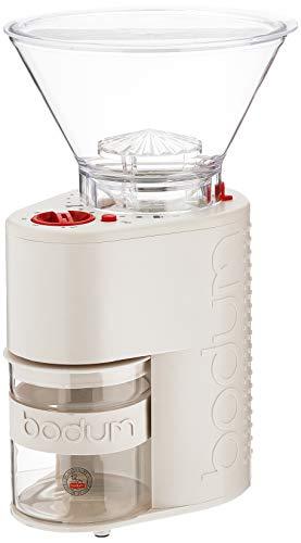Bodum Bistro White Electric Coffee Grinder
