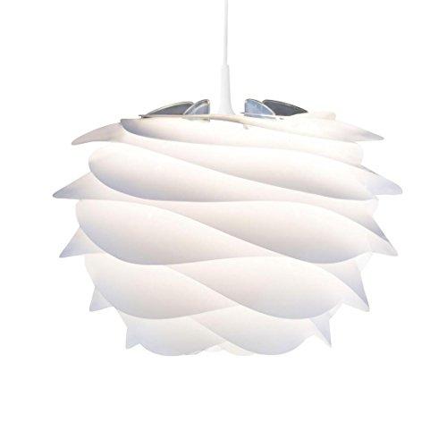 Carmina–Hängeleuchte, weiß Ø32cm + Kabel Weiß 2,1m–Suspension Vita G80590von William Ravn