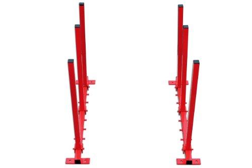 PowerTec 92321 Wandhalterung klappbar für Stoßstangen