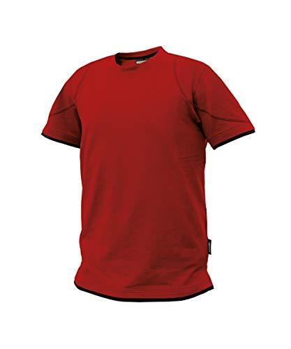 Dassy Kinetic zwart/antraciet grijs, maat M - Werks T-shirt