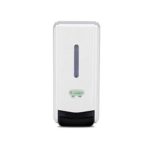 Double-Head Zeepautomaat Shower Gel Dispenser Manual Drip Type 1000ML Transparante Zeep Fles met Schaal en Slot voor shampoo, afwasmiddel, Conditioner, handzeep, desinfectiemiddel