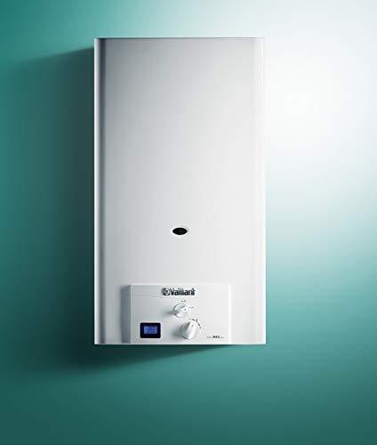 Calentador de agua a gas butano, Vaillant turboMAG pro 125/1 3R (Camara...