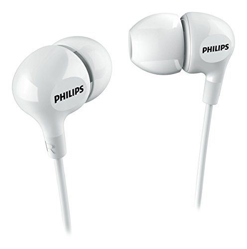 Auriculares intrauditivos Philips SHE3550WT 00 Color Blanco