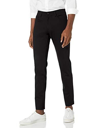 Theory Mens,Stretch Slim Fit Pants,Tech Raffi, Black, 33