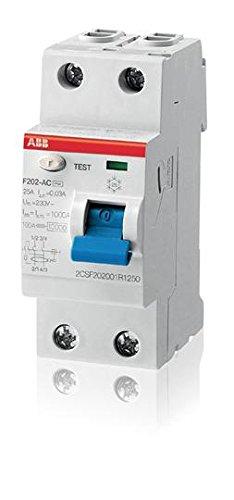 ABB F202 AC-100/0,03 DIFFER.PURI BIPOLARI F202