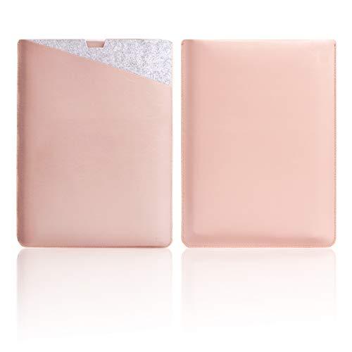WALNEW 13.5 Microsoft Surface Laptop 1/2/3 13.5 Zoll Schutzhülle, Hülle, Case, Cover, mit Zwei-Taschen-Design mit Geschütztem Inneren und Externem Mousepad