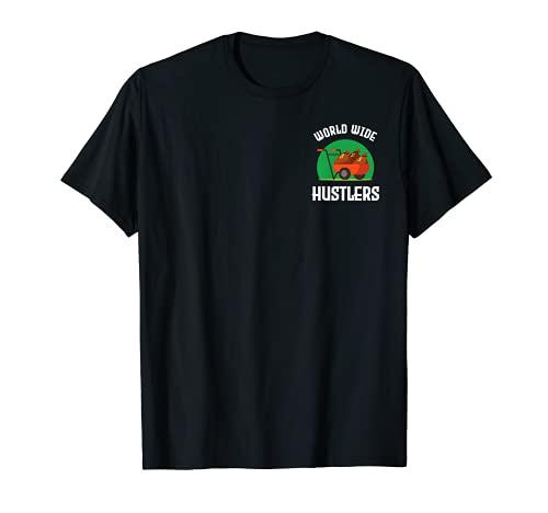 Homme Hustlers du monde entier : argent, puissance, succès, richesse et agitation T-Shirt