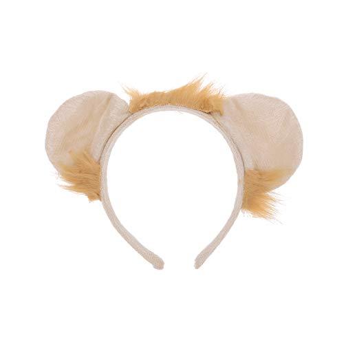 Amosfun Löwe Ohren Stirnband Haarreif Tier Kostüm Zubehör für Kinder Halloween Party Cosplay