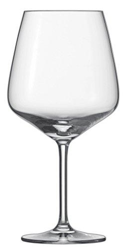 Schott Zwiesel 115673Bordeaux Taste 140Rosso Vino Vetro, Senza Piombo Cristallo Vetro, Trasparente, 11.1x 11.1x 22.7cm, 6unità