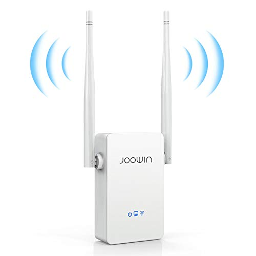 JOOWIN WiFi Extender WiFi Range Extender 2.4GHz 300Mbps WiFi Signal Booster Internet Booster Wireless Wi-Fi Signal Repeater/Access Point/Router
